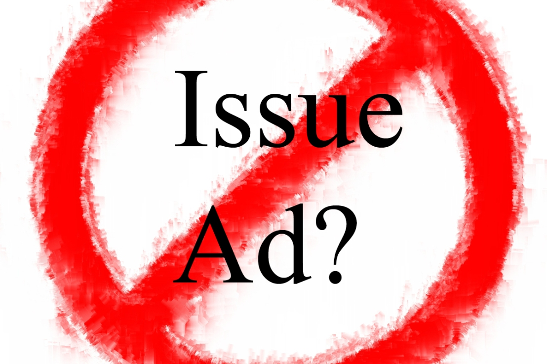 "Is an ""Issue Ad"" a ""falsely narrow dumb legalism""?"