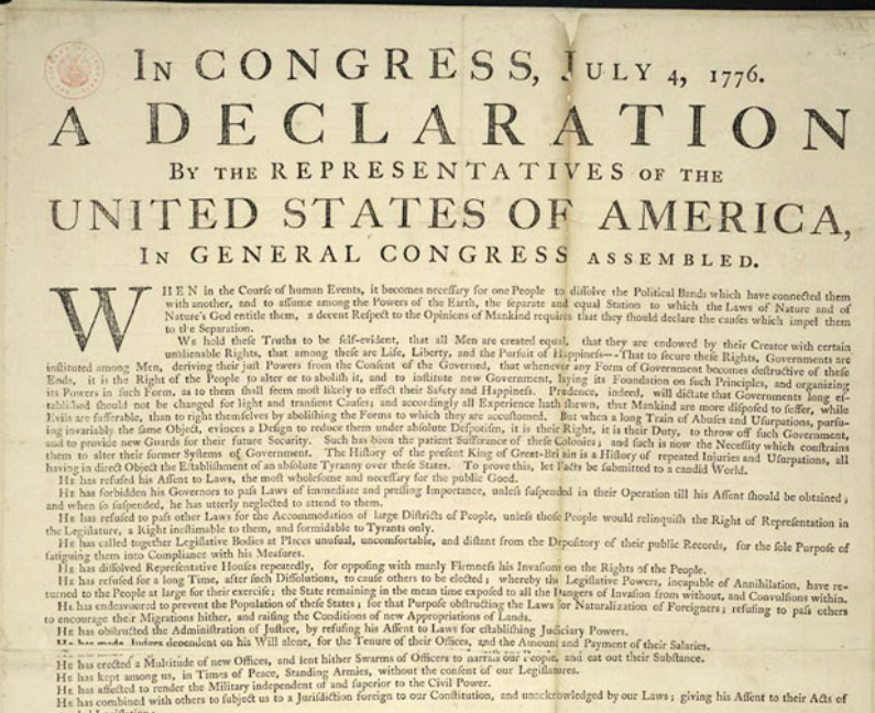 "Facebook's ""Hate Speech"" Algorithm Rejects the Declaration of Independence as ""Hate Speech"""